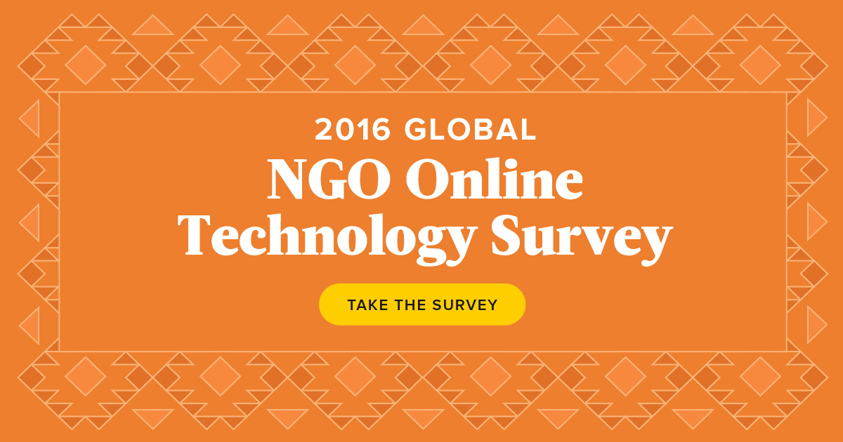 2016 Global NGO Online Technology Survey