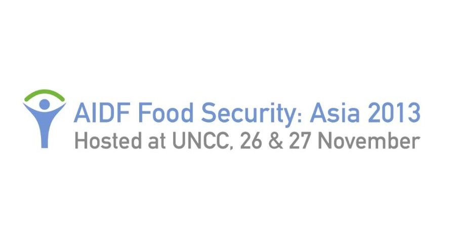AIDF Food Security Summit Asia 2013 - Highlights