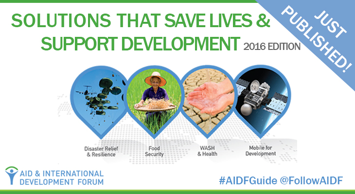 Help Us Identify Solutions That Save Lives & Support Development – 2016 Edition