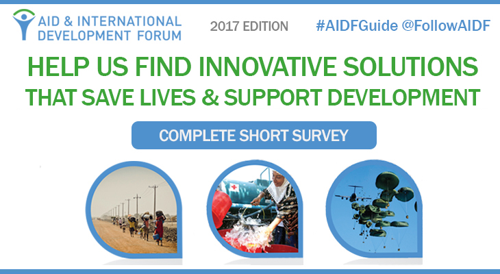 Help Us Find Solutions That Save Lives & Support Development - 2017 Edition