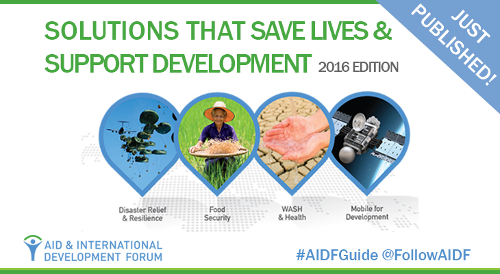 Inspiring Solutions That Save Lives & Support Development – 2016 Edition