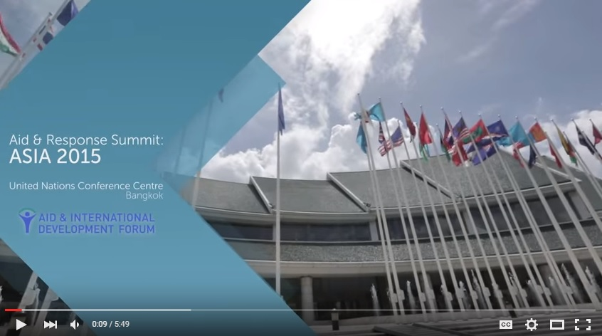 Testimonials Aid & Response Summit 2015
