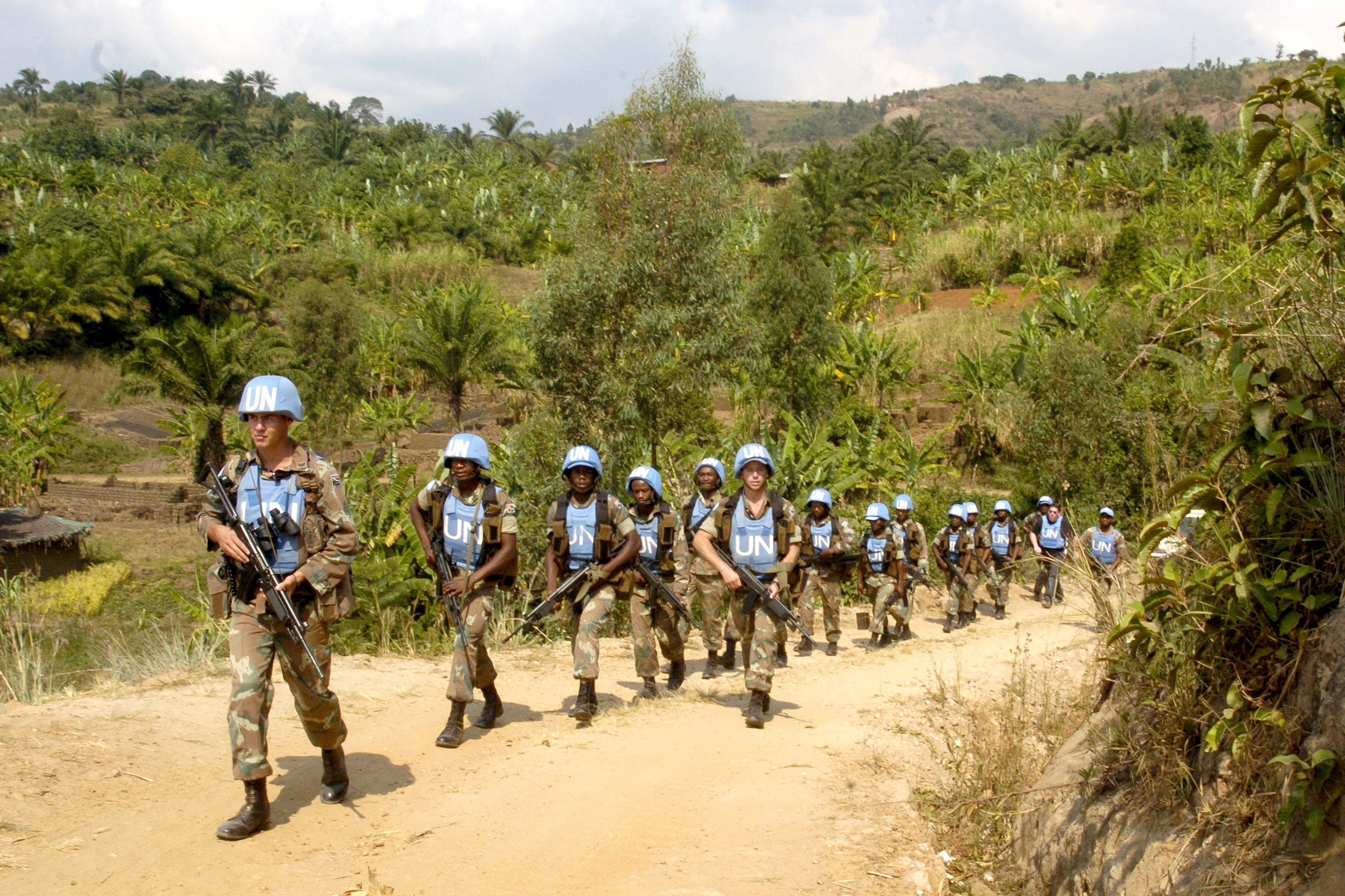 Supporting Peace-Keeping Operation in Africa
