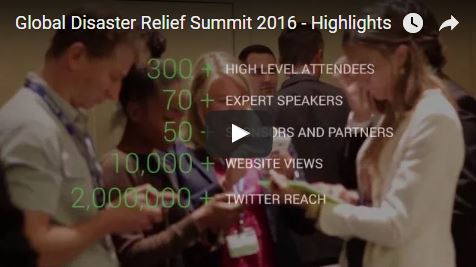 Global Disaster Relief Summit 2016 - Highlights