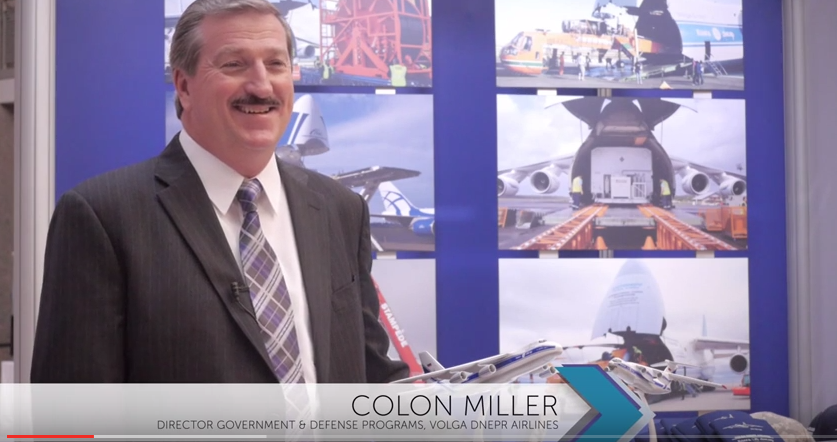 AIDF Global Disaster Relief 2015 - Interview with Colon Miller from Volga Dnepr Airlines