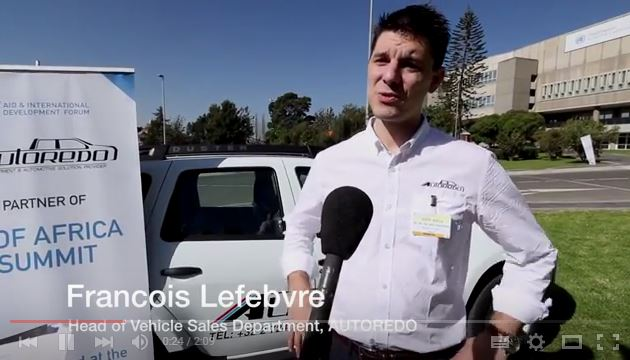 AIDF Africa Summit 2016 - Interview with Francois Lefebvre, AUTOREDO