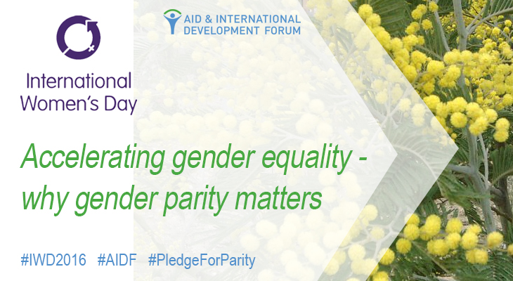 Why gender parity matters – International Women's Day