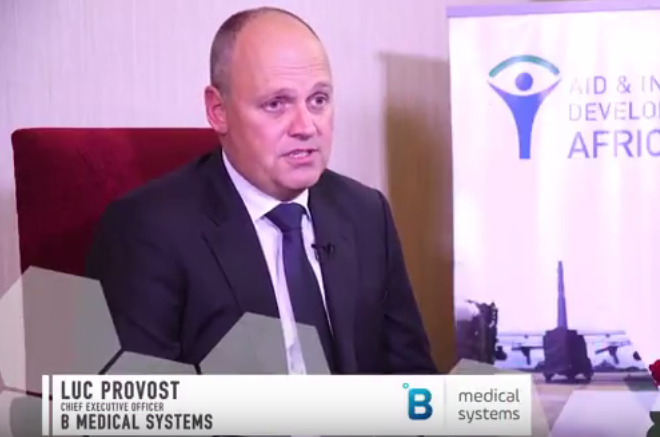 AIDF Africa Summit 2017- Interview with Luc Provost, B Medical Systems