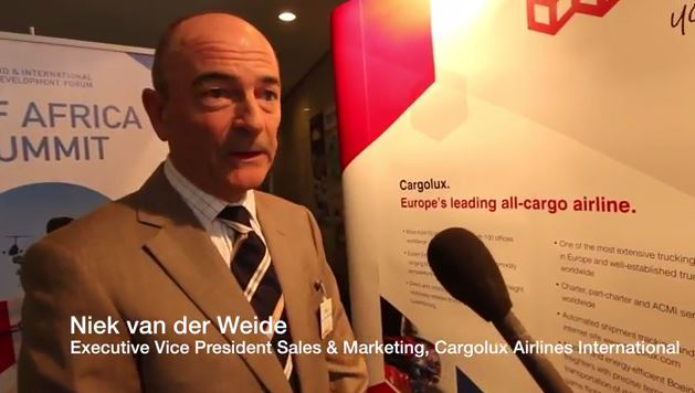 AIDF Africa Summit 2016 - Interview with Niek van der Weide, Cargolux Airlines International