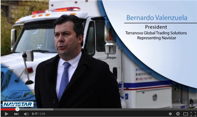 Navistar Interview at AIDF Disaster Relief Summit 2014