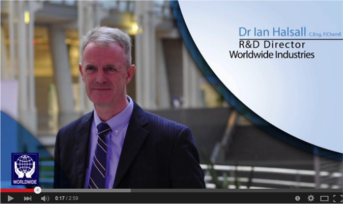 Worldwide Industries Interview at AIDF Disaster Relief Summit 2014
