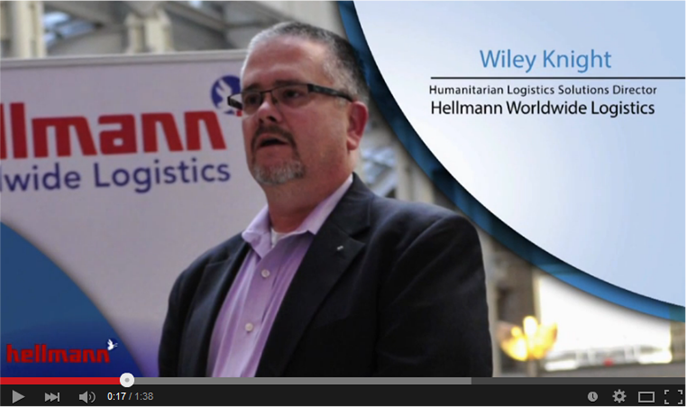 Hellmann Logistics Interview at AIDF Disaster Relief Summit 2014