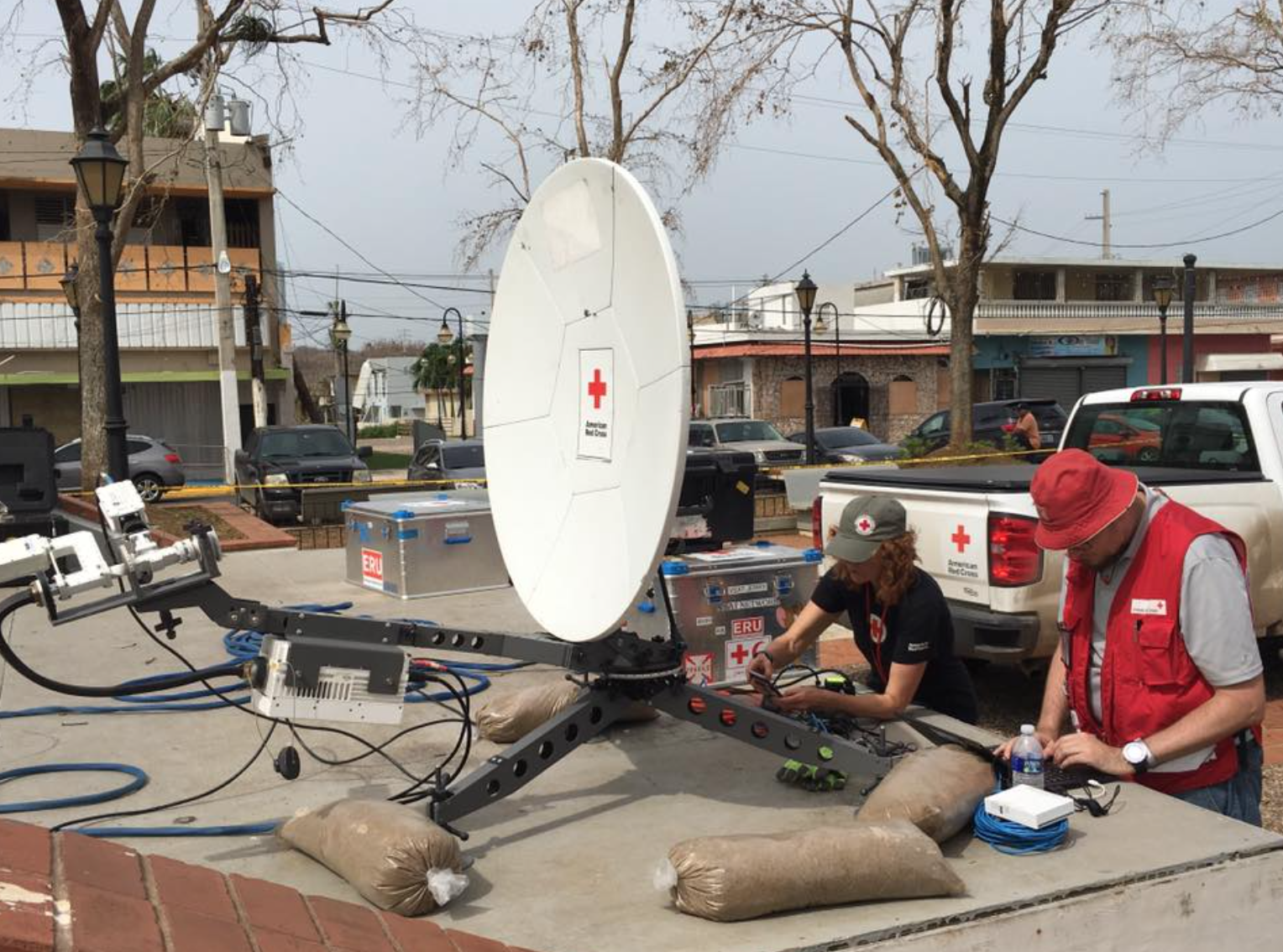 Caribbean Disaster Response Communications by ITC Global