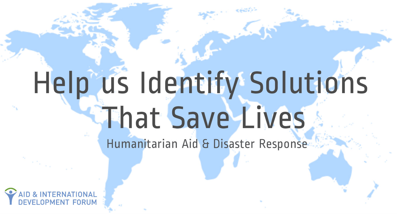 Help us Identify Solutions that Save Lives