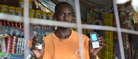 Digital cash for refugees in Kenya's Kakuma camps