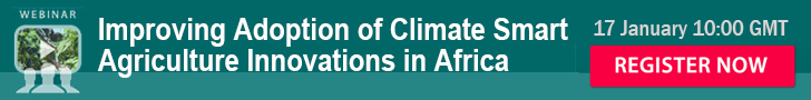 Improving Adoption Of Climate Smart Agriculture Innovations In Africa