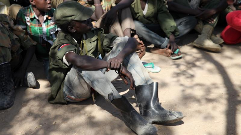 South Sudan: 15,000 children recruited to fight