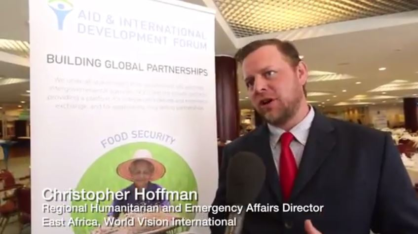 AIDF Africa Summit 2016 - Interview with Christopher Hoffman, World Vision International