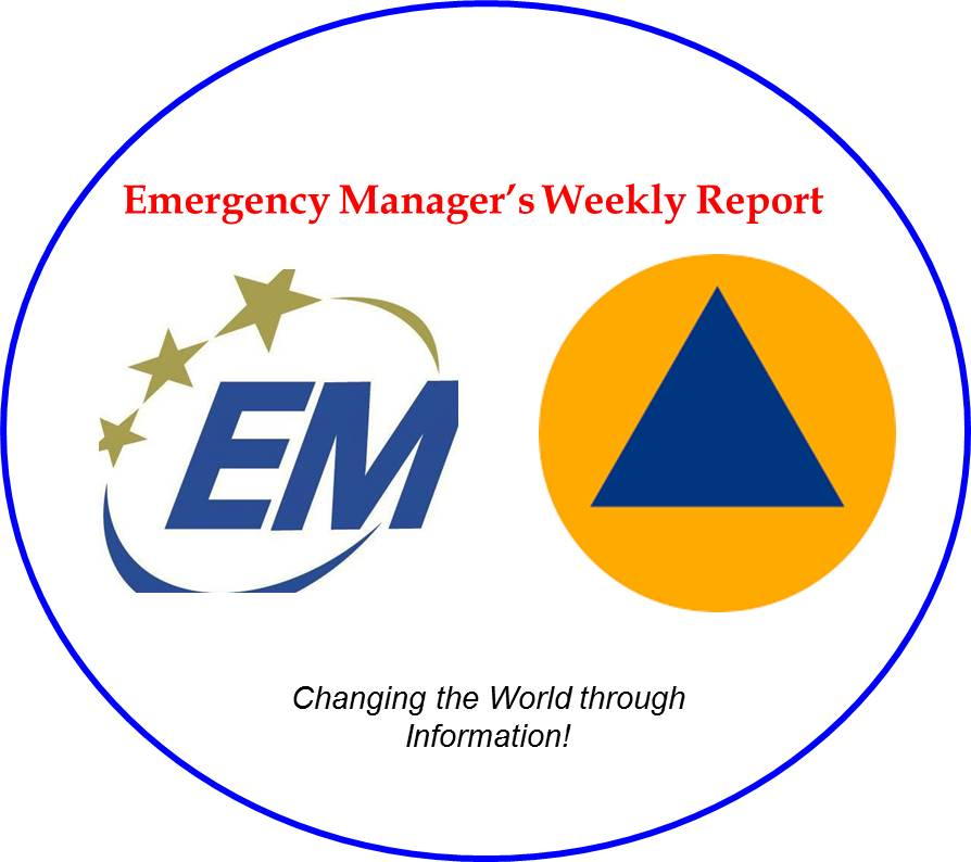 Emergency Manager's Weekly Report