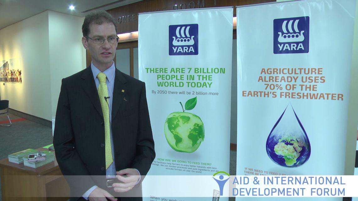 Miles Harriman, Yara - AIDF Food Security Summit 2013
