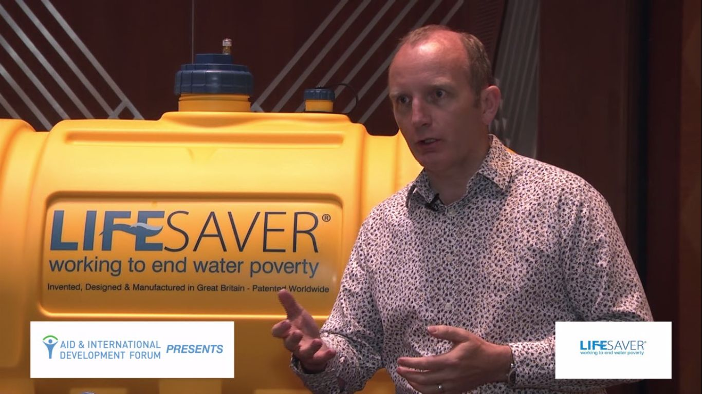 Michael Pritchard, LIFESAVER - AIDF Water Security Summit Asia 2014