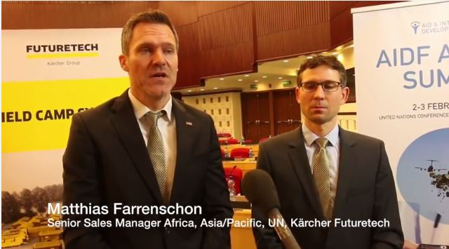 AIDF Africa Summit 2016 - Interview with Matthias Farrenschon & Dr Patrick Marcus Kärcher Futuretech