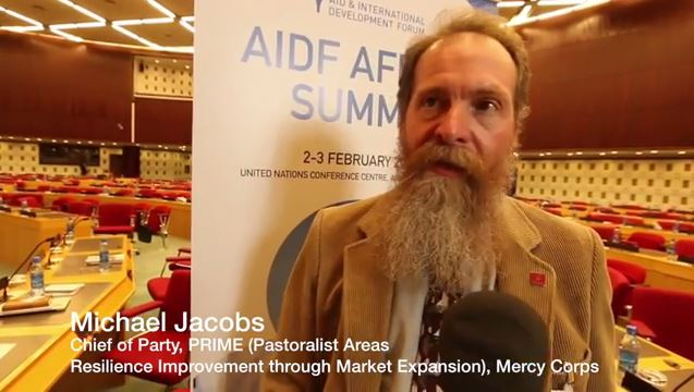 AIDF Africa Summit 2016 - Interview with Michael Jacobs, Mercy Corps