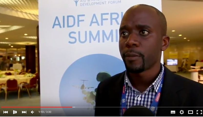 AIDF Africa Summit 2016 - Interview with Moses Sitati, UN OCHA