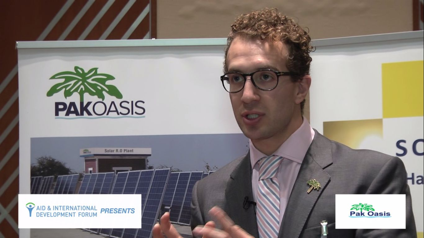 David James, PAK OASIS - AIDF Water Security Summit Asia 2014