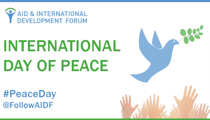 International Day of Peace - The SDGs: 'Building Blocks for Peace'