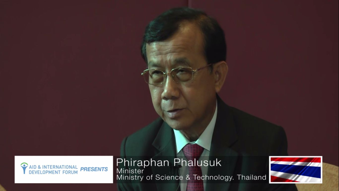 Phiraphan Phalusuk, Minister of Science and Technology of Thailand - AIDF Water Security Summit Asia 2014