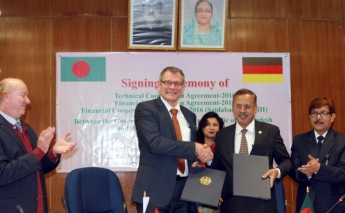 Germany and Bangladesh sign €300m deal to support development programmes