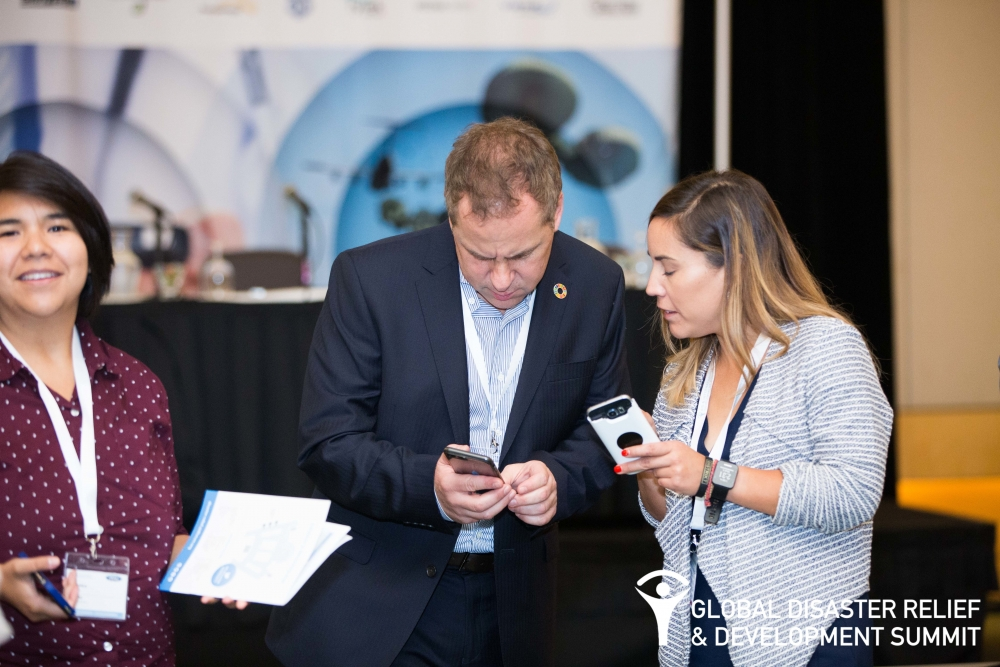 Planet of the Apps at the Global Disaster Relief & Development Summit 2017
