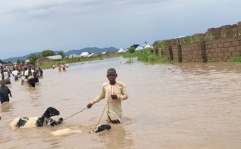 Flooding in Nigeria displaces thousands