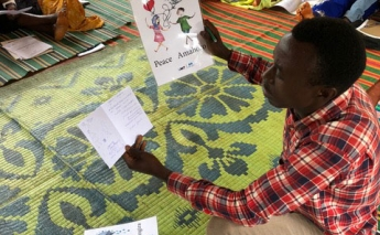 Education programme for young refugees in Chad making positive impact