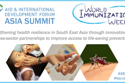Role of immunisation in sustainable development and health resilience