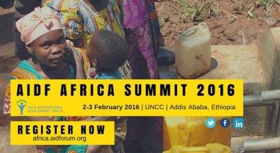AIDF Africa Summit 2016 I United Nations Centre, Addis Ababa, Ethiopia
