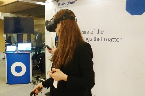 Virtual reality also impacts cold-chain
