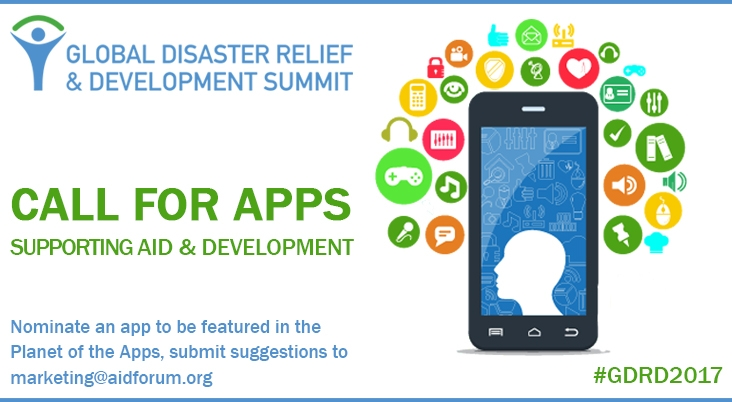 Call for Apps Supporting Disaster Relief & Development