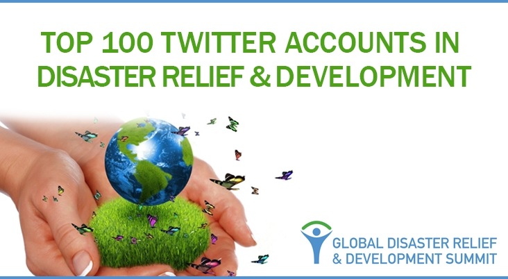 100 Must-Follow Twitter Accounts in Disaster Relief & Development