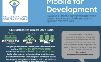 [Infographic] How PPPs between telecommunications and humanitarian agencies can save lives