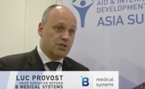 Aid & Development Asia Summit 2017 - Interview with Luc Provost, B Medical Systems
