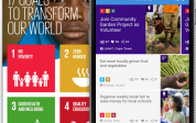 New mobile app to drive action towards the realisation of the UN Sustainable Development Goals
