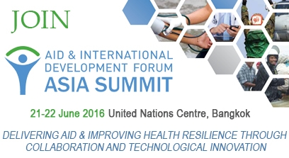 AIDF Asia Summit 2016, United Nations Conference Centre, Bangkok, Thailand