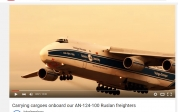 Carrying cargoes onboard our AN-124-100 Ruslan freighters