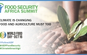 """World Food Day: """"Climate is changing. Food and agriculture must too"""""""