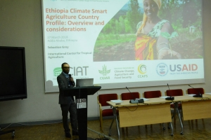Press release: International Center for Tropical Agriculture (CIAT)