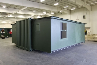 Berg Containerized, Expandable Shelter