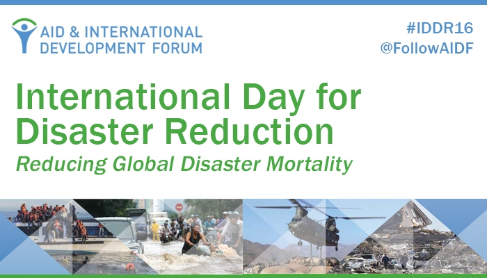 "International Day for Disaster Reduction: ""Live to Tell"""