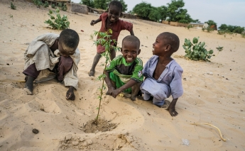 UNDP projects aim to prevent further deterioration of Lake Chad